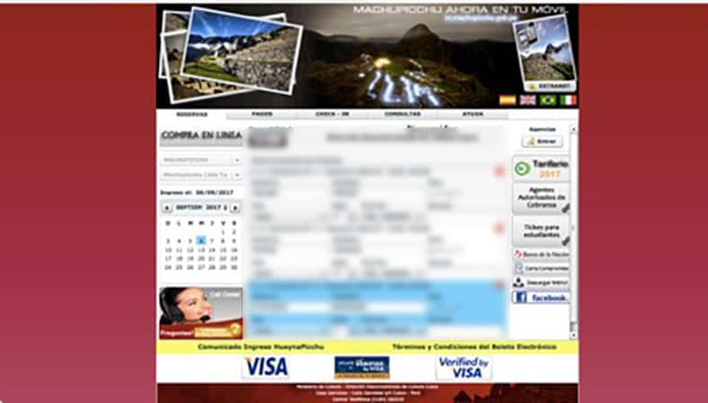 Tickets für den Machu Picchu - Schritt 3