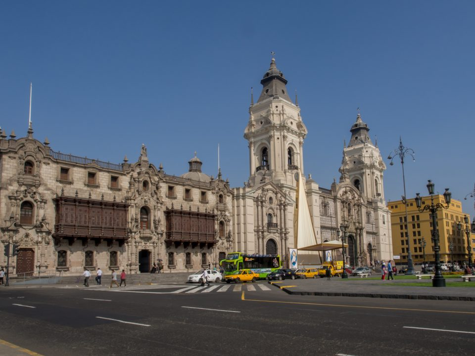 Lima historical building