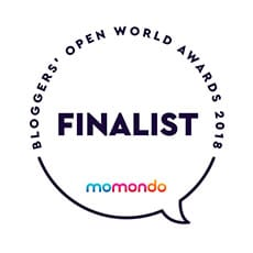 Momondo Blogger's Open World Awards 2018