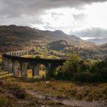 Glenfinnan Viadukt illuminiert
