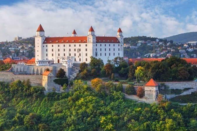 Die Burg Bratislava.
