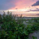 Sonnenuntergang am Strand in Costa Rica