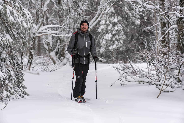 Schneeschuhlaufen im Schwarzwald