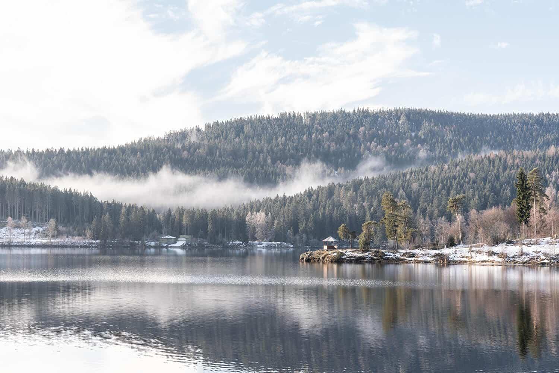 Der Schluchsee im Schwarzwald