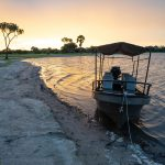 Tanzania Sonnenuntergang in Selous