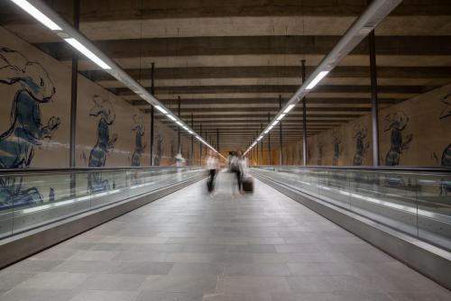 Metrostation in Lissabon