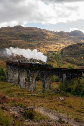 Harry Potter Zug Glenfinnan Viadukt